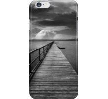 Long Jetty B&W iPhone Case/Skin