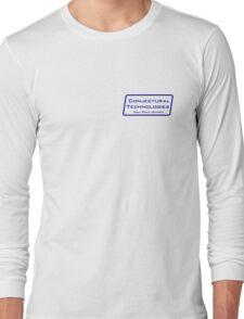 Conjectural Technologies (blue) Long Sleeve T-Shirt