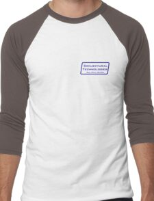 Conjectural Technologies (blue) Men's Baseball ¾ T-Shirt