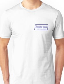 Conjectural Technologies (blue) Unisex T-Shirt