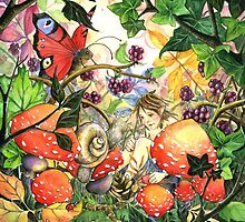 Snail meets Elf by Joanna Bromley