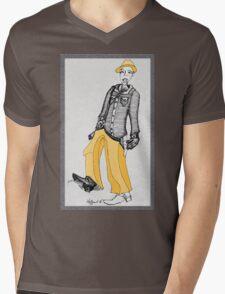 The Cowboy Mens V-Neck T-Shirt