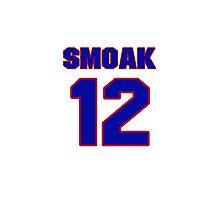 National baseball player Justin Smoak jersey 12 Photographic Print