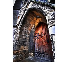 warm welcome in the house of god Photographic Print