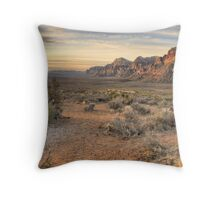 Sunrise at Red Rock Throw Pillow