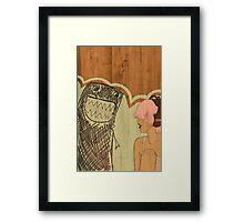 lighten up Framed Print