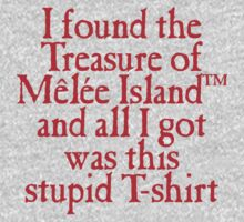 Monkey Island - Lost Treasure of Melee Island Kids Clothes