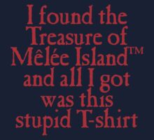 Monkey Island - Lost Treasure of Melee Island Kids Tee