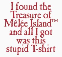 Monkey Island - Lost Treasure of Melee Island by ElementaI