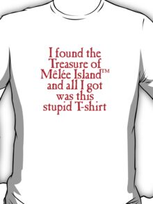 Monkey Island - Lost Treasure of Melee Island T-Shirt
