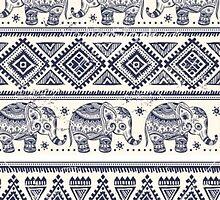 Tribal Elephant by biancababee