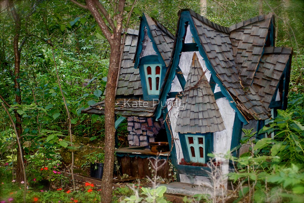 The Blue Faerie Dwelling by Kate Purdy