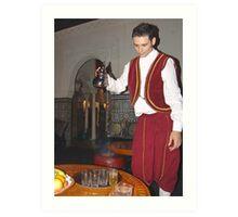 Dar Magreb - Sunset Blvd. Hollywood, CA Traditional Moroccan Tea Art Print