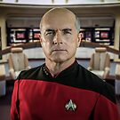 Pensive Picard by Randy Turnbow