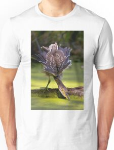 Juvenile Black Crowned Night Heron - Mudd Lake Ottawa T-Shirt
