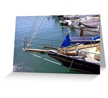 """""""Ready To Go . . ."""" Greeting Card"""