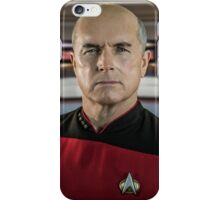 Pensive Picard iPhone Case/Skin