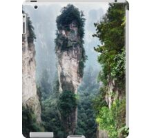 Mountain spire in Zhangjiajie National Forest Park China art photo print iPad Case/Skin