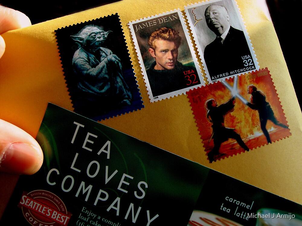 Tea Loves Company by Michael J Armijo
