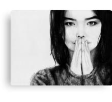Björk Canvas Print