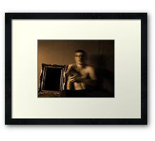 Tied to Earth 1 Framed Print