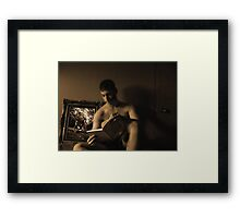 Tied to Earth 5 Framed Print
