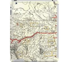 NORTHERN PACIFIC RAILWAY MAP 1900 iPad Case/Skin