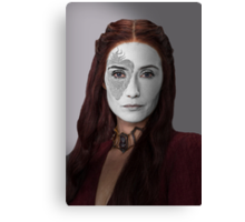 Melisandre, The Red Woman, House War Paint Canvas Print