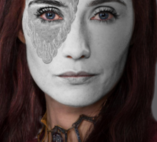 Melisandre, The Red Woman, House War Paint Sticker