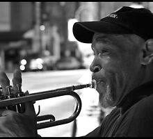 Atlanta Trumpet Player by jbau30