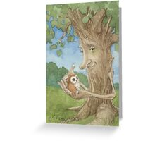 Healing Tree Greeting Card