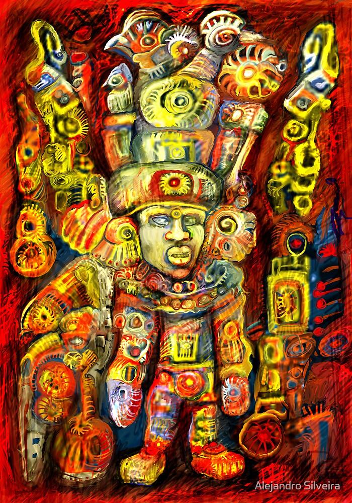 Old Gods IV by Alejandro Silveira