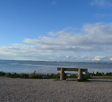 Crescent beach in White Rock, BC. Landscape photography. by naturematters