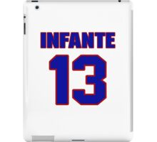National baseball player Omar Infante jersey 13 iPad Case/Skin