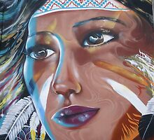 Tribal Queen by GraffitiGallery