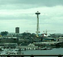 Seattle Spaceneedle  by Keeton Gale
