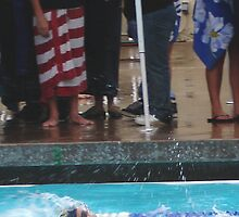"Swiming in the rain - Die hard race fans stay through the competitions - their team was ""unde ""feeted"" by leih2008"