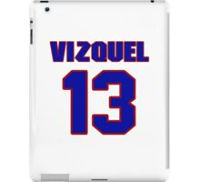 National baseball player Omar Vizquel jersey 13 iPad Case/Skin