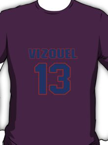 National baseball player Omar Vizquel jersey 13 T-Shirt