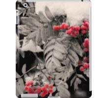 Mountain Ash [Sorbus sitchensis] iPad Case/Skin