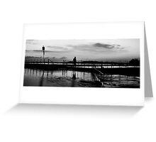 Shadows of Morn - Mona Vale Beach, Sydney Australia Greeting Card
