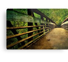 A long way to the other side of the bridge Metal Print