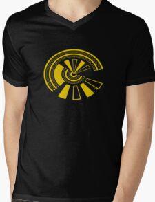 Mandala 15 Yellow Fever Mens V-Neck T-Shirt