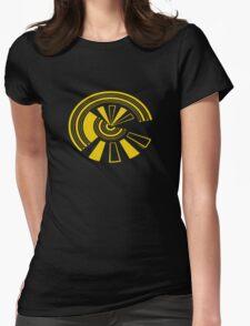 Mandala 15 Yellow Fever Womens Fitted T-Shirt