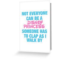 Disney Princess- Hipster Quote  Greeting Card