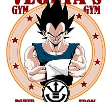 Vegeta's Gym by Mark Lauthier