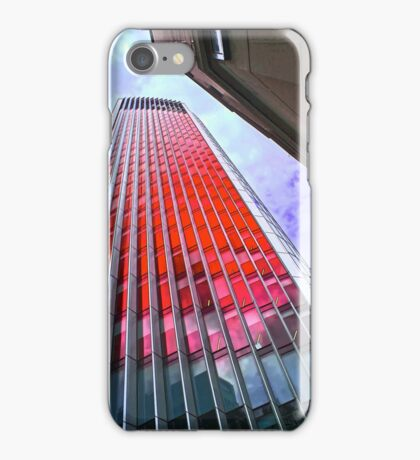City of London in the red by Tim Constable iPhone Case/Skin