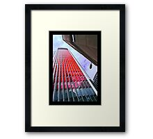 City of London in the red by Tim Constable Framed Print