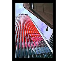 City of London in the red by Tim Constable Photographic Print