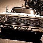 Vintage Car by Marnie Hibbert